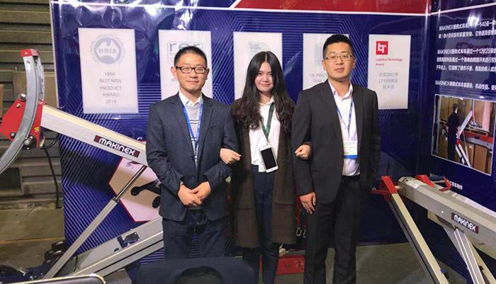 通达物流机器有限公司日本东京国际物流设备展载誉而归
