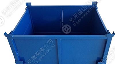 金属周转箱(钢板箱)分类及使用优点