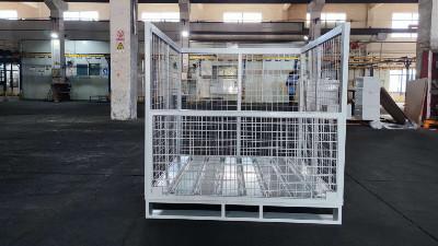 仓储系统中的金属周转箱为节省空间而受热捧