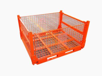 红色折叠网箱