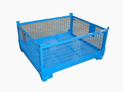 折叠金属网箱