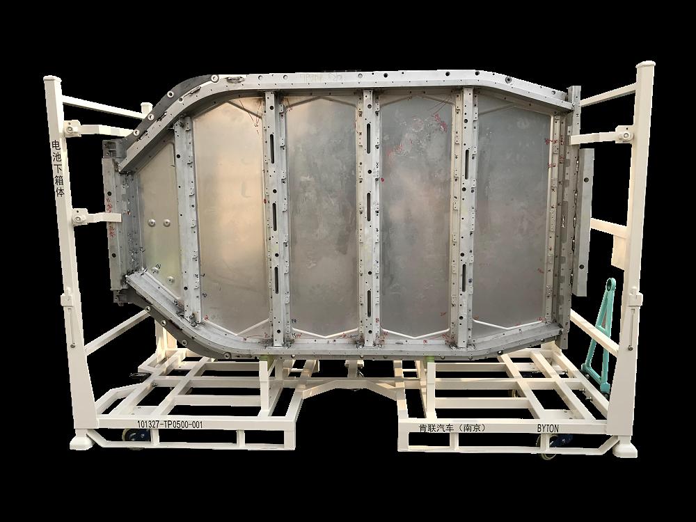 电池箱体料架