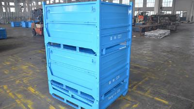 金属周转箱是如何提升现代化仓储物流系统作业的