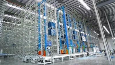 自动化立体仓库中金属托盘的应用