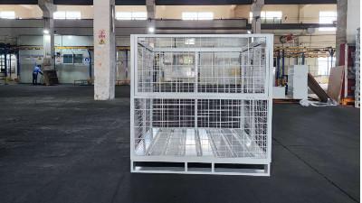 金属周转箱为您带来不一样的仓储作业效率
